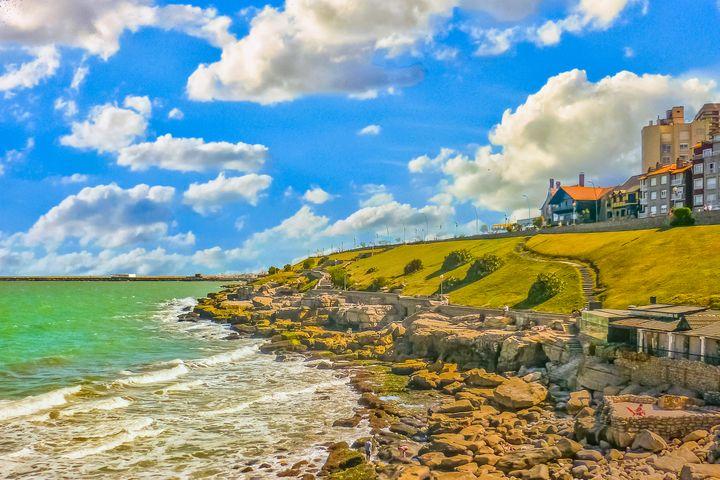 Coast of Mar del Plata - Photography