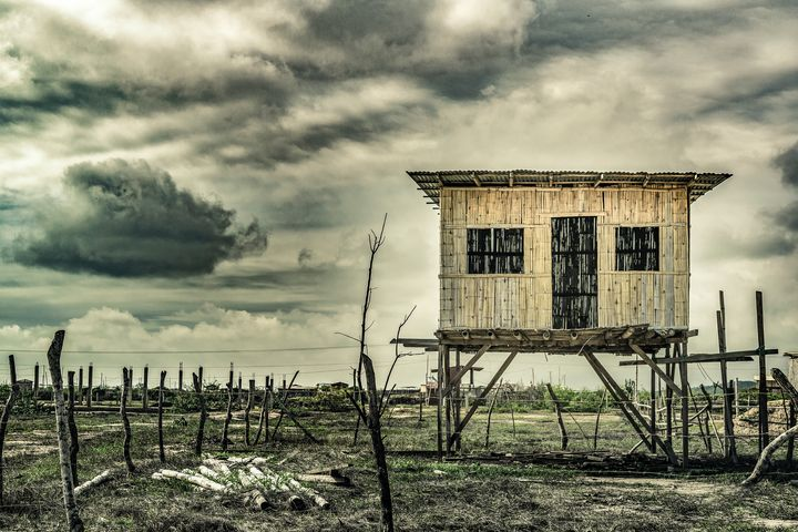 Traditional Cane House Ecuador - Photography