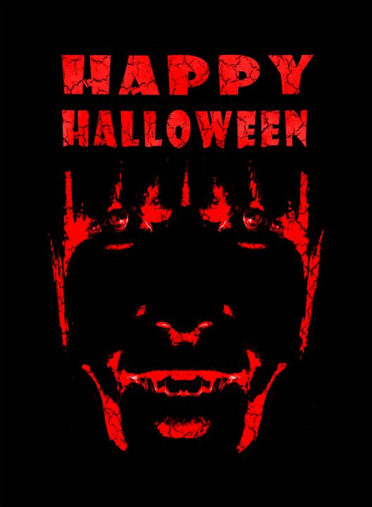 Happy Halloween Poster Artwork - Photography