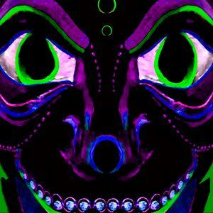 Demon Ethnic Mask Extreme Close Up I
