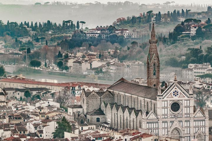 Aerial View Florence, Italy - Photography