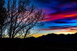 Sunset Landscape Scene, San Juan Pro