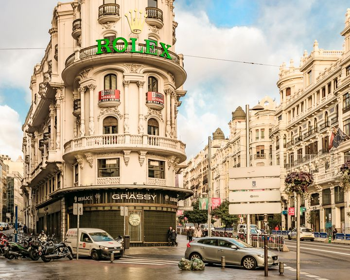 Gran Via Street, Madrid, Spain - Photography