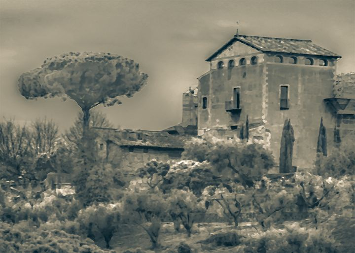 Rome Scene Photo Illustration - Photography