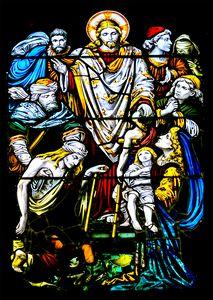 Christian Window Glass Artwork
