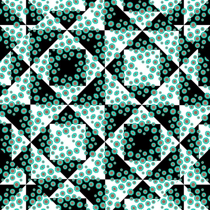 Ditsy Check Seamless Pattern - Photography