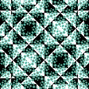 Ditsy Check Seamless Pattern
