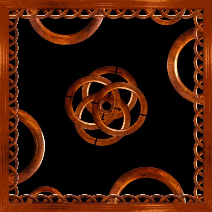 Refined Wood Decorative Background - Photography