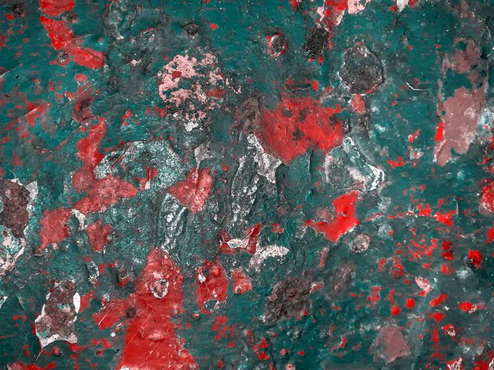 Multicolored Abstract Grunge - Photography