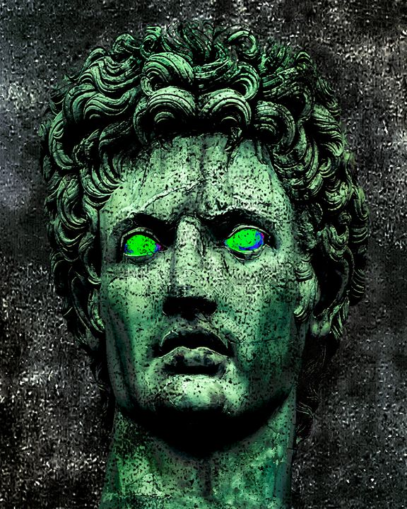 Angry Caesar Augustus Photo Manipula - Photography