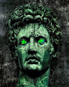 Angry Caesar Augustus Photo Manipula