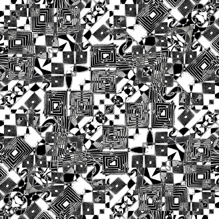 Zentangle Geometric Pattern - Photography