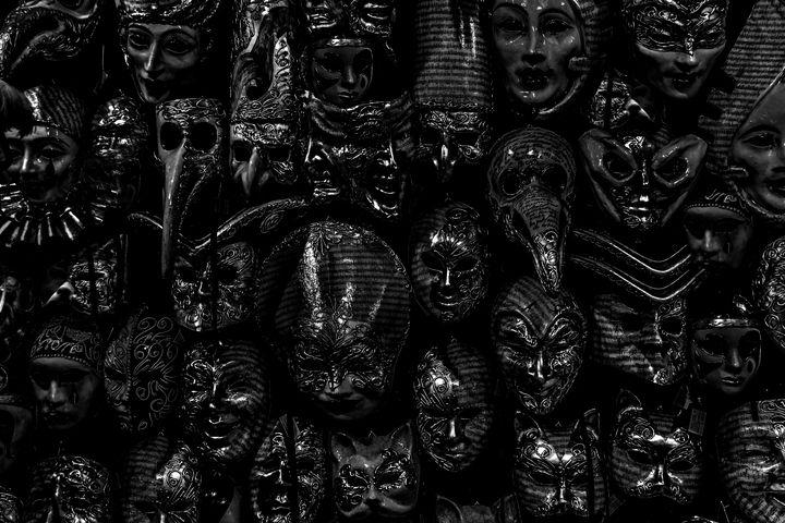 Venetian Masks Store, Venice, Italy - Photography
