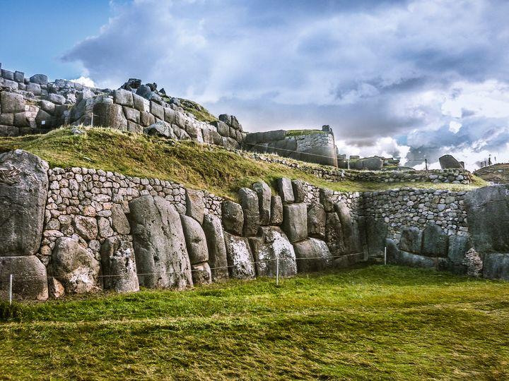 Sacsayhuaman Inca Fortress, Cusco, P - Photography