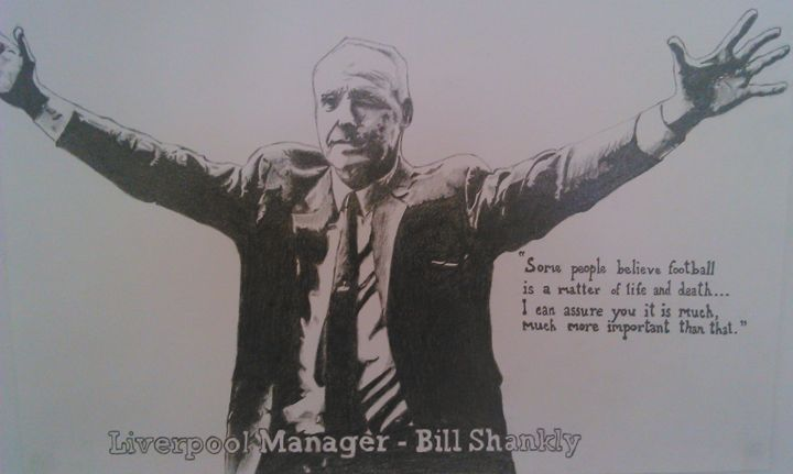 Bill Shankly - FaadilArt