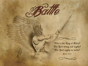 Battle Antique Image