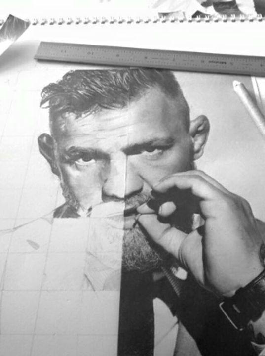 Conor McGregor - Drawings