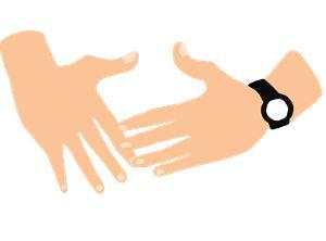 Shia Labeouf's Hands