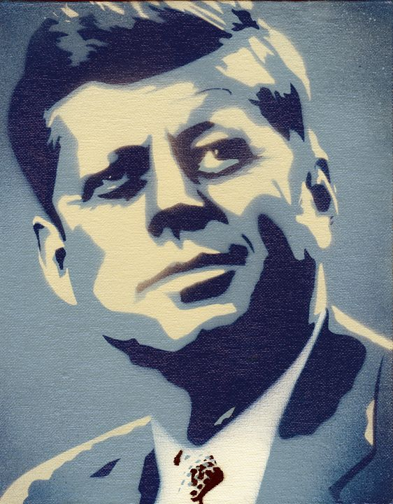 JFK-An American icon - Ben's Brushes