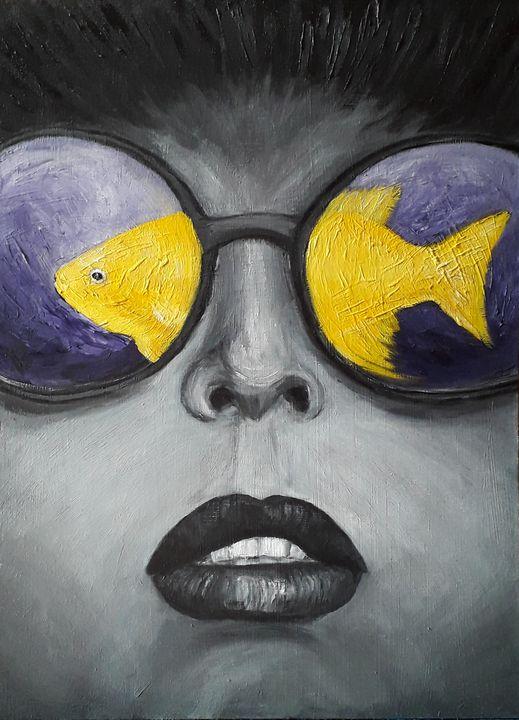 Gold fish - Nika_art
