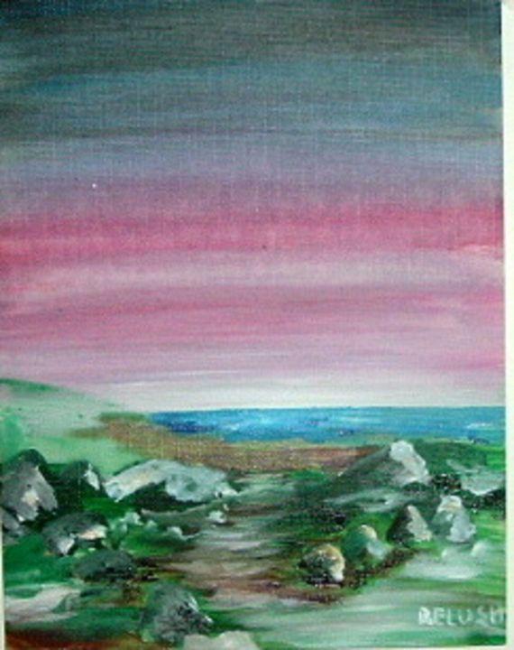 Red Seascape - Bob Belush