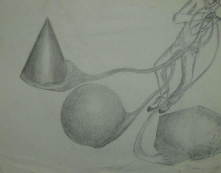 3 floating objects - Bob Belush