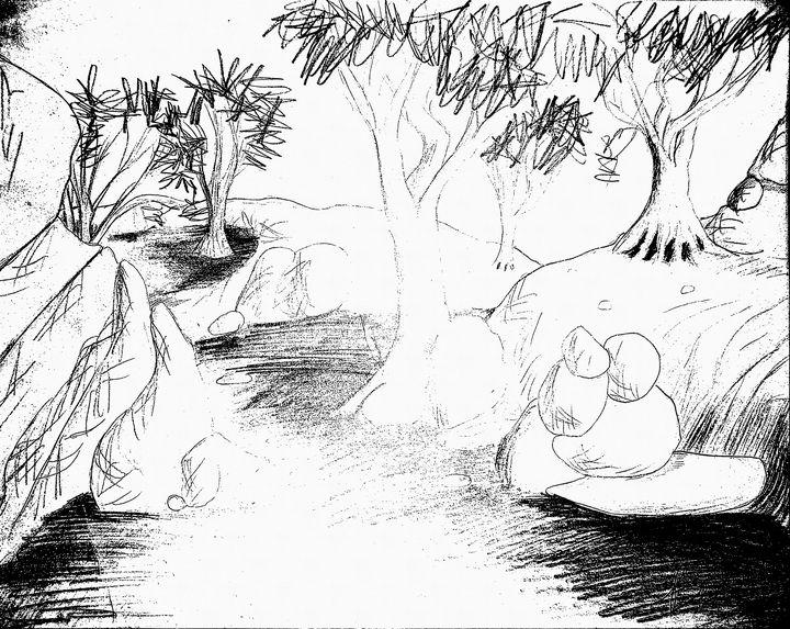 Angrey trees - Bob Belush
