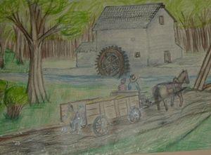Mill wagon