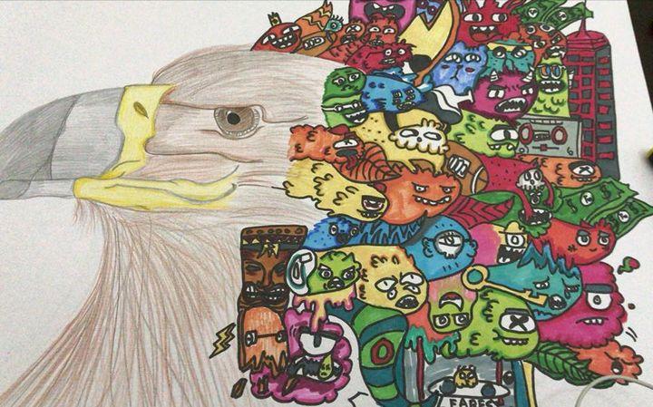 doodeld eagel - Fareshop