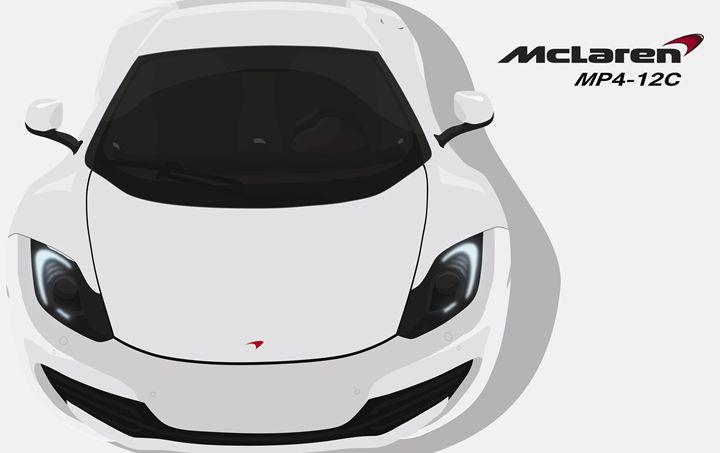 McLaren MP4-12C Vector - this_is_ilham