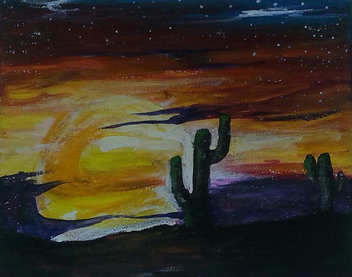 desert sun - Melodie Nicole Moss