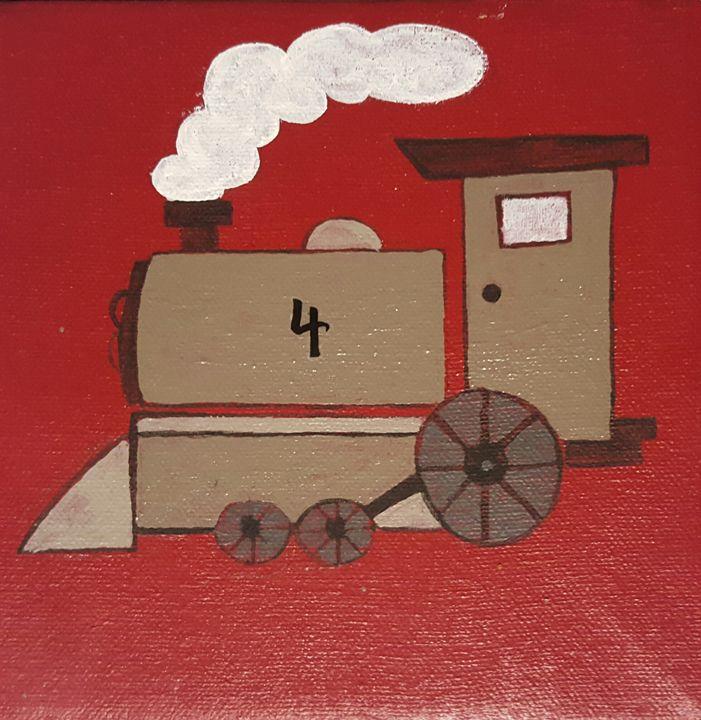 Train - Ambers crafts