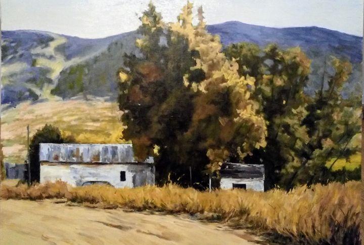 Oil painting - Abidin Aydemir