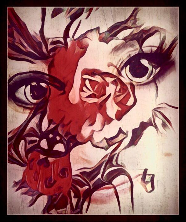 Every rose has it's thorn - Zizela art & design