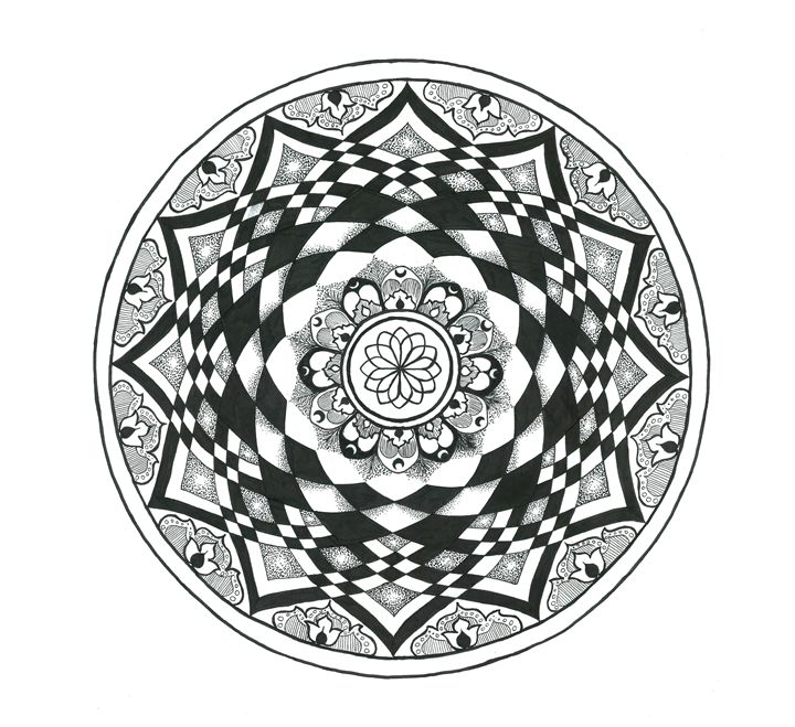 infinate flower - Trinity Jean