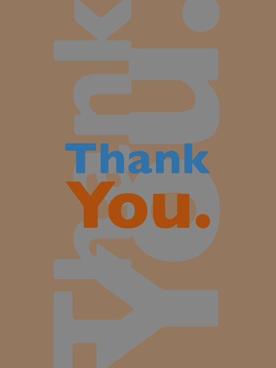Thank You. - Peter Bagdonas