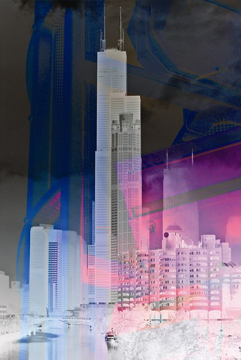City Glow 2 - Peter Bagdonas