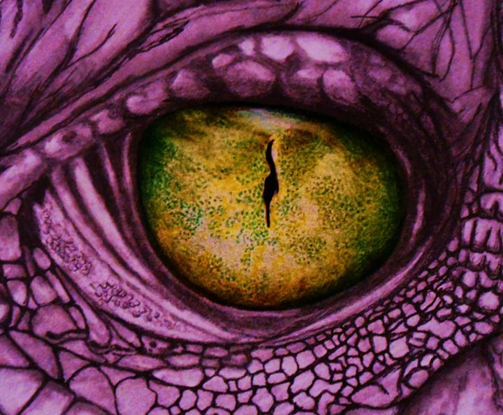 dragon eye - A Touch of Canvas