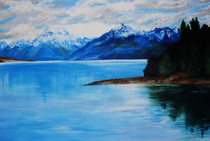 new zealand waters - A Touch of Canvas