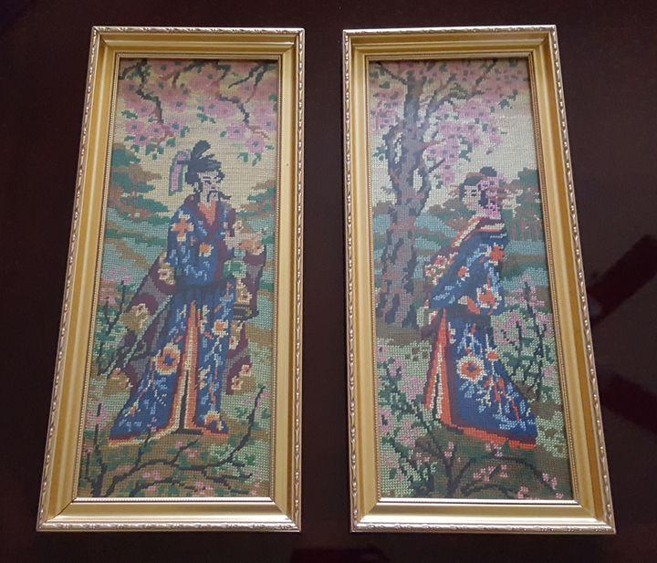 Handmade tapestry set - Tapestry etc