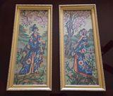 Handmade tapestry set