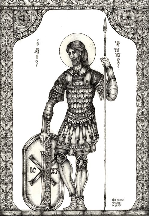 St. Artemius - Nikolaos