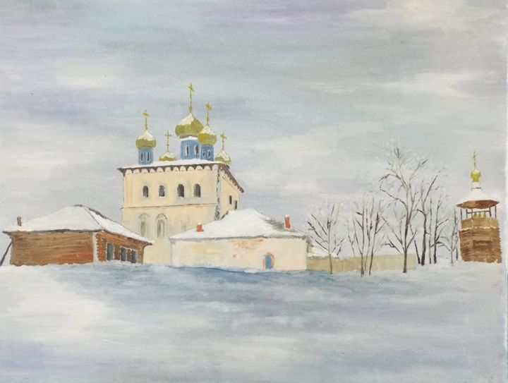 Russian church in winter - Marina C