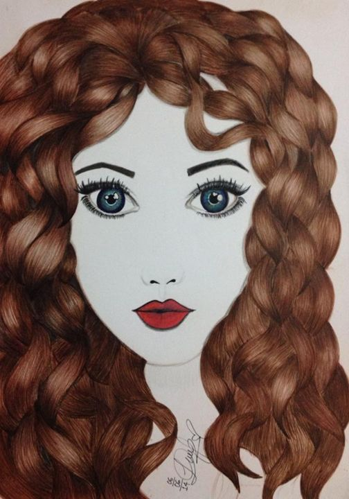 curly hair rocks - Diana