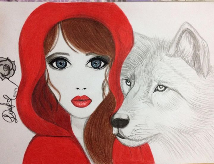red riding hood - Diana
