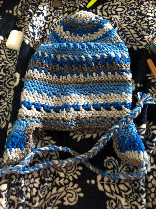 Beanie - Fine Art and Crochet