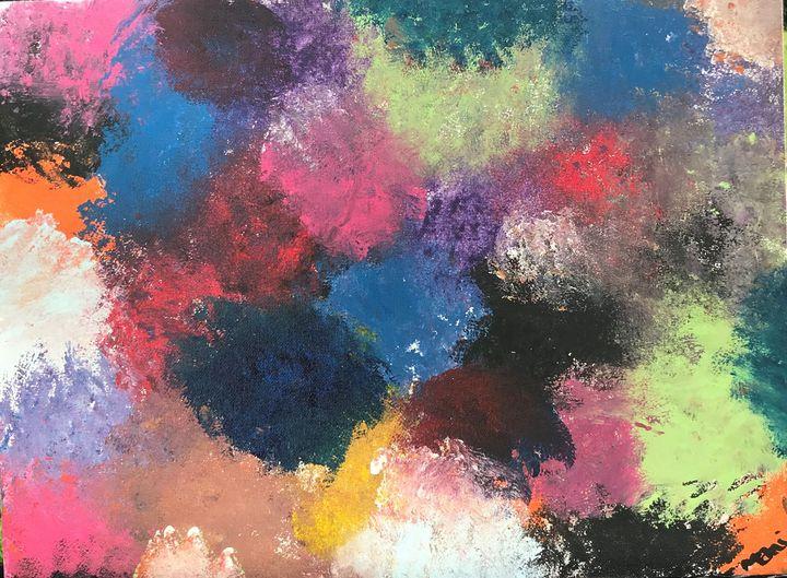 colorful confusion - ArtByMani