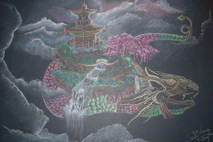 Spirit Dragon - S.L. Henry, Artist