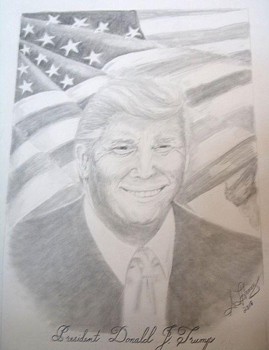 President Trump - S.L. Henry, Artist