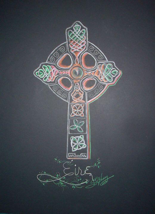 Celtic Cross - S.L. Henry, Artist